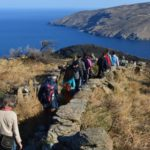 Hiking trail 3 in Andros