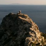 Hiking trail 7 in Andros