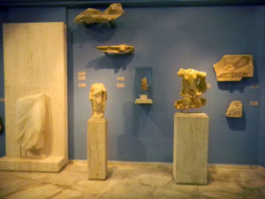 Palaeopolis Archaeological museum in Andros