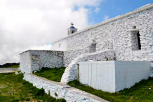 Castle of Faneromeni in Andros