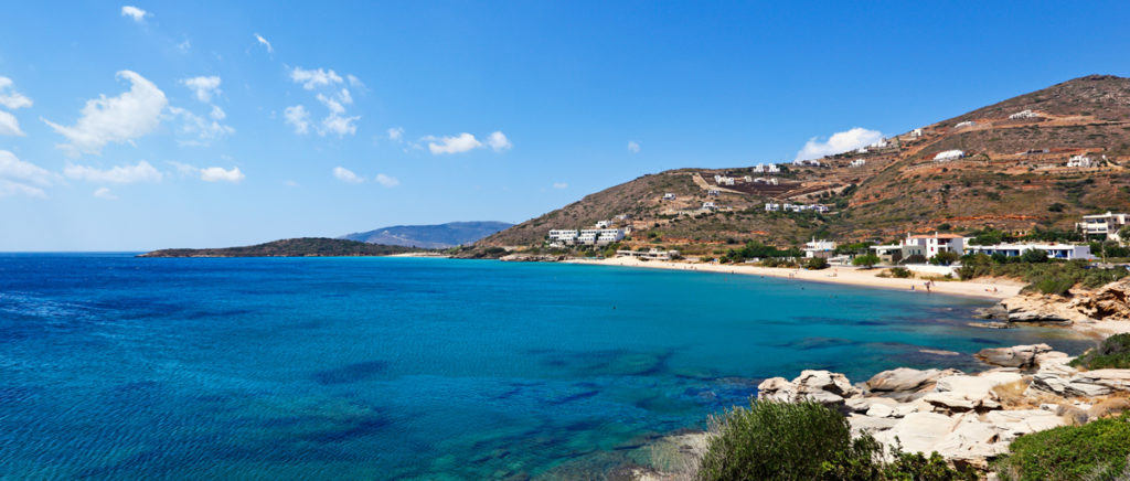 Kypri beach in Andros