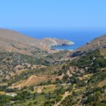 Hiking trail 6 in Andros